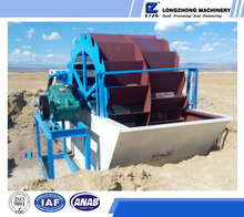 Factory direct supply 120t bucket sand washer export to Mexico