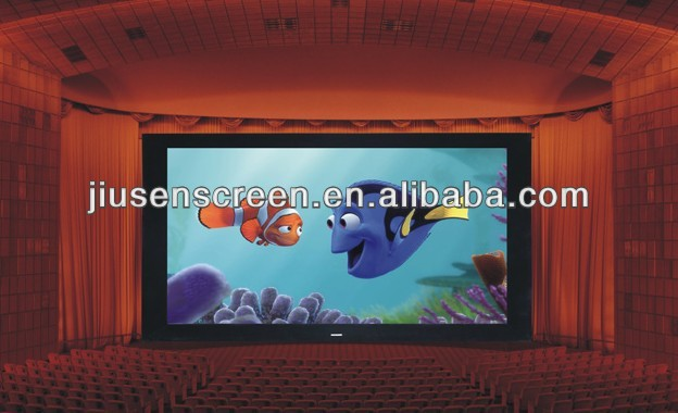 3d cinema/home theater/silver screen fabric