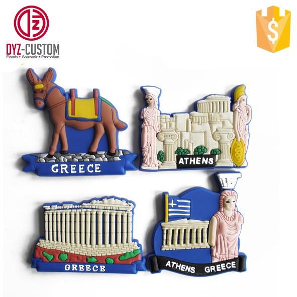 Greece 3d soft pvc fridge magnet.jpg