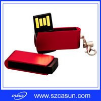 hot selling wooden swivel usb pen drive with cheap price