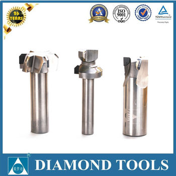 polycrystalline diamond compacts solid carbid end mills pcd diamond tipped end milling cutting tools End mills cutter