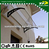 Heavy Duty plastic polycarbonate sheet canopy