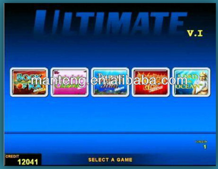 Ultimate 5 in 1 Game Board New Arrival Coolfire game 3 versions available