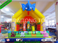 Top quality inflatable bounce house,playing castle inflatable bouncer/inflatable dog jumping castle