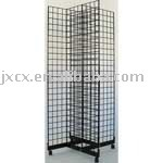 SDGF93 Gridwall 4 Way Display Rack