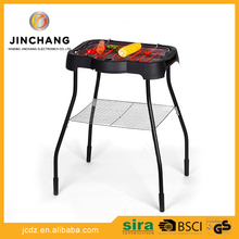 Professional factory supply new hot plate electric portable chrome plated BBQ grill