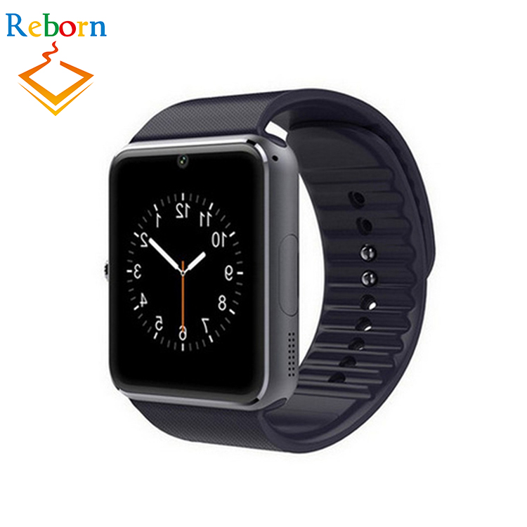 2017 Android Sim Card Gt -08 Bands Smart Watch Gt08 With Whatsapp And Facebook