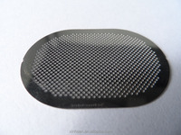high tension perforated sheet metal mesh for speaker grille