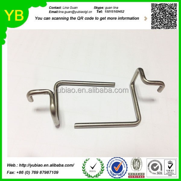 Customized spring loaded wire clamp,stainless steel wire for spring,wire bending spring