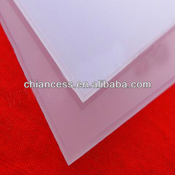 Powered Polycarbonate Diffuse Plane PC Solid Enduranced Sheets