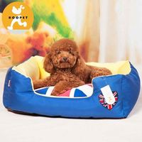 Fashion chew-proof indoor dog house bed