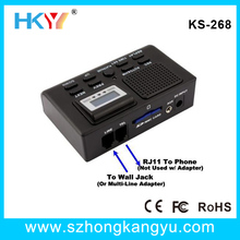 2013 hot sale New telephone call recorder SD Card Phone Line Voice Recorder