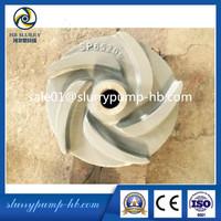 China made Sump Slurry pump impeller/good quality pump impeller