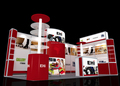 Large exhibit booth ideas exhibition stands island exhibition booths