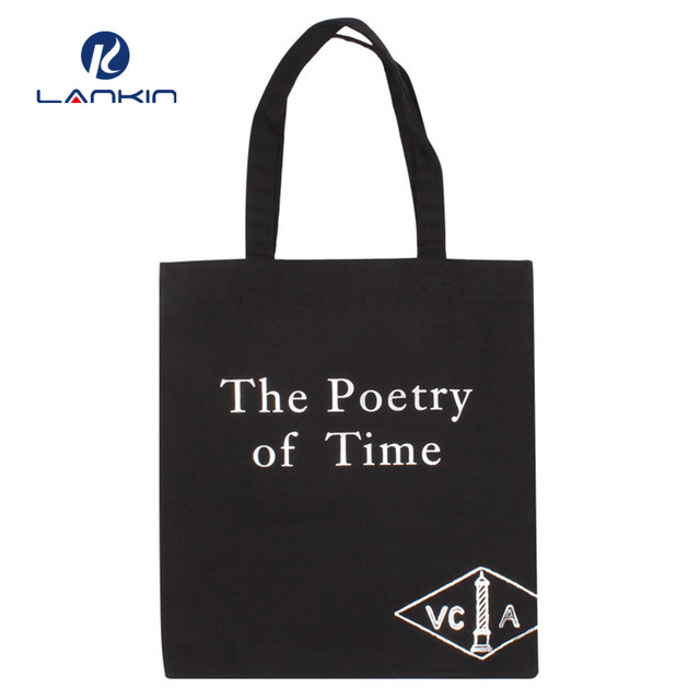 guangzhou Factory price fashion trend ladies tote shopping waxed canvas bag