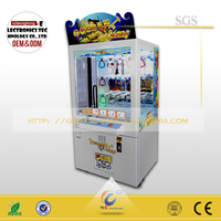 Key master prize vending machine arcade crane claw game install bill acceptors