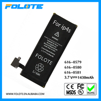 1430mAh Internal Replacement 3.7V Li-ion Battery + Tools For Apple for iPhone 4GS 4S 4G