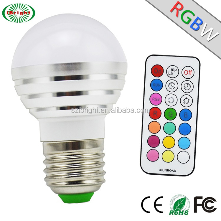 Hot Sale 50000hrs Wall Switch RGBW Led Bulb Filament Bulb Equivalent,Save Money,Electric Bulb for Mood