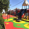 Non-toxic Polyurethane Rubber Flooring For Safety Playground Surfaces FN-X-17050203