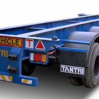 Skeleton Trailer For Heavy Loaded Containers