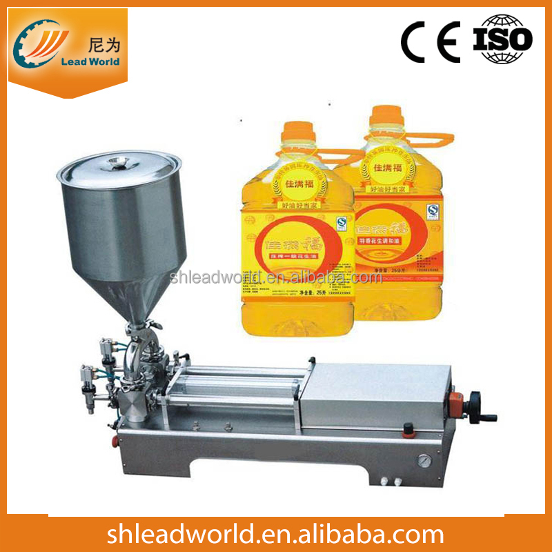 oil filling machine semiauto and automatic whole packing line for bottle