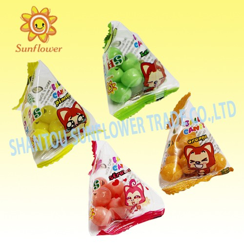 Triangle Bag Mix Fruit Crispy Rice Candy