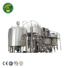 Automatic Stainless Steel Beer Brewing Equipment Beer Making Machine For Cider Fruit Beer