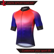 Sublimation Print Pro Teams Cycling Clothes Custom , Wholesale cycling uniform kits , cycling jersey clothing for man