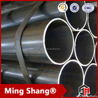 china supplier ss400 carbon round steel pipe best price