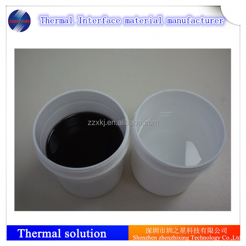 Two component thermal pouring silicone sealant for LED encapsulation