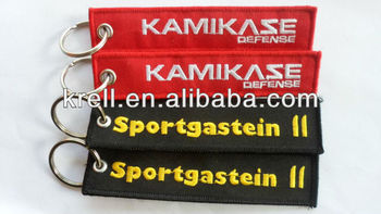 Custom Embroidery Keychain in low price