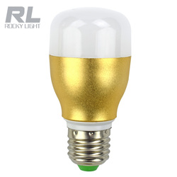 18w 28w housing led bulb of golden color