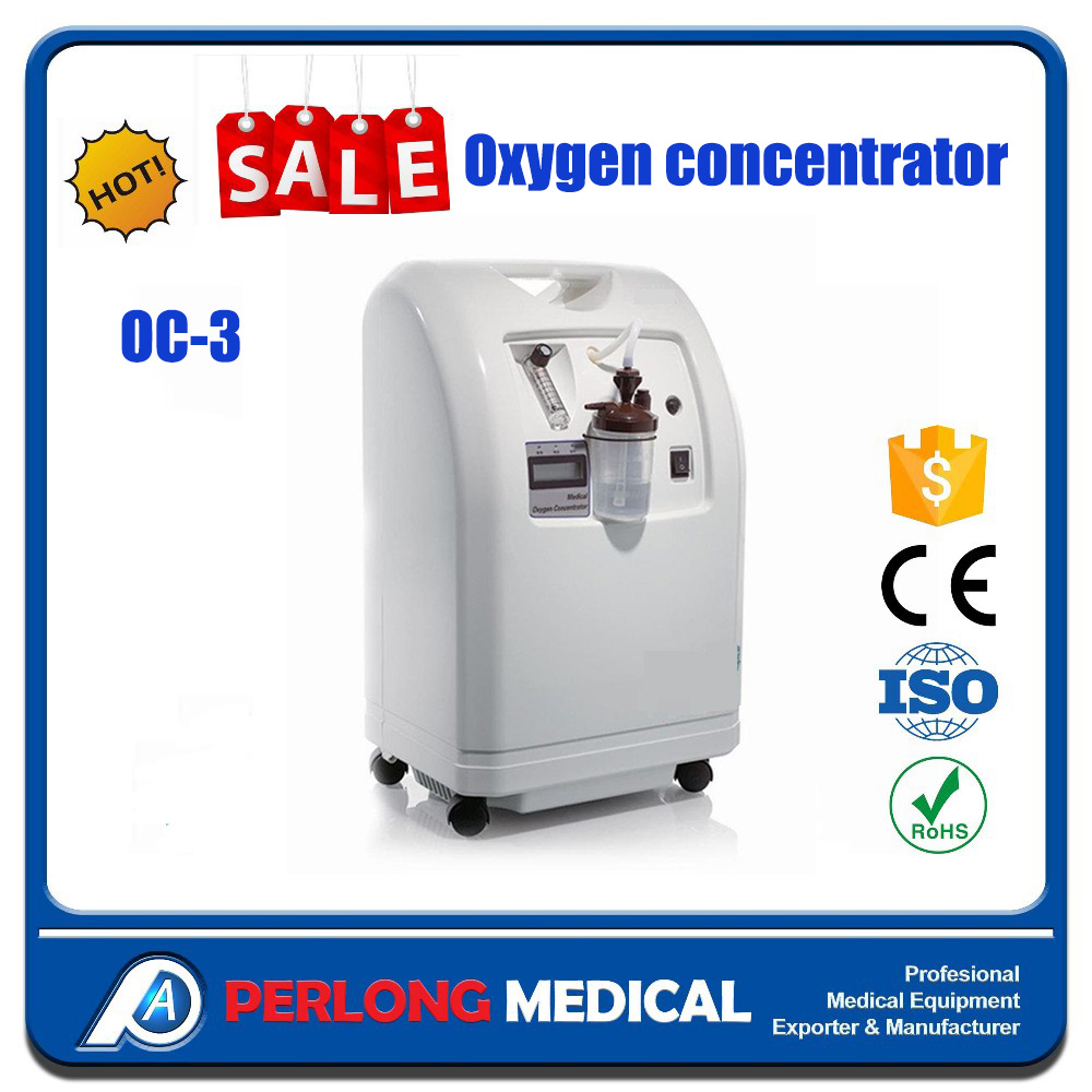 perlong medical OC-3 1L 3L 6L High purity household oxygen concentrator / oxygen plant psa oxygen