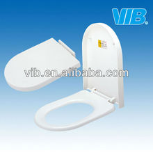 Sanitary parts toilet seat with quick release toilet seat cover with soft close