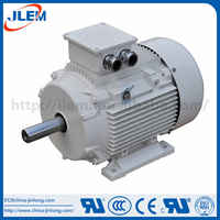 Three phase motor with alumnum case