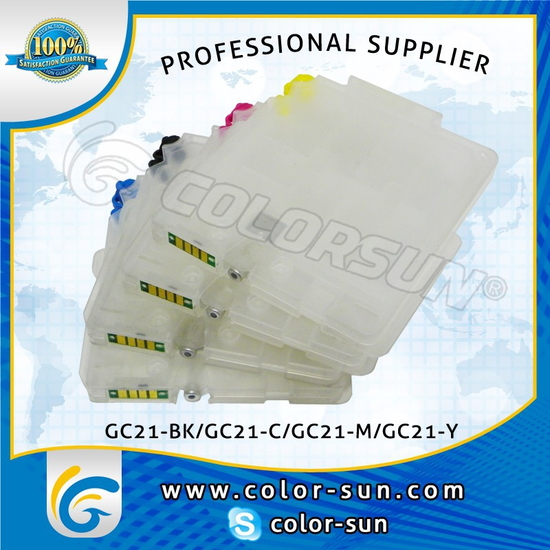 Hot sales REFILLED INK CARTRIDGE GC21 for RICOH GX3050N