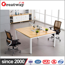newest wood design partition standard size office table desk