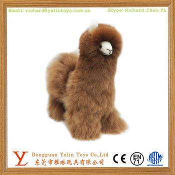 custom animal toy plush stuffed alpaca llama