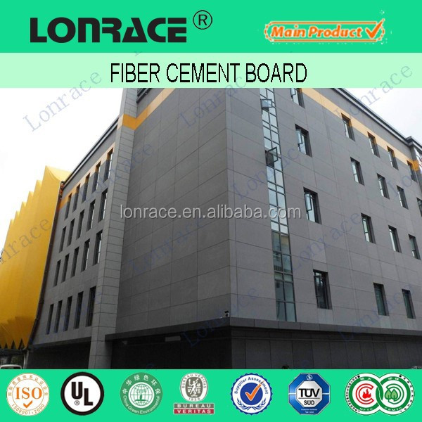 6mm fiber cement board /fiber cement house exterior wall siding