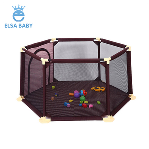 Colorful baby safety fence , Wholesale cheap for European standard good folding baby travel cot baby play pens