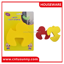 lovely duck shape sliding door stopper for baby
