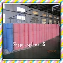 [FACTORY] Super absorbent spunlace nonwoven cloth/wiping rags roll/Lint free j cloth