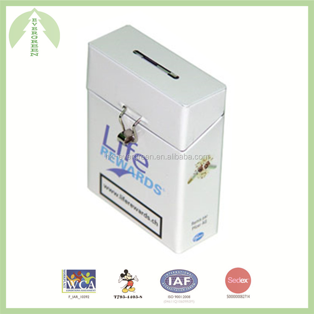 High quality tin box for cigarette, good design