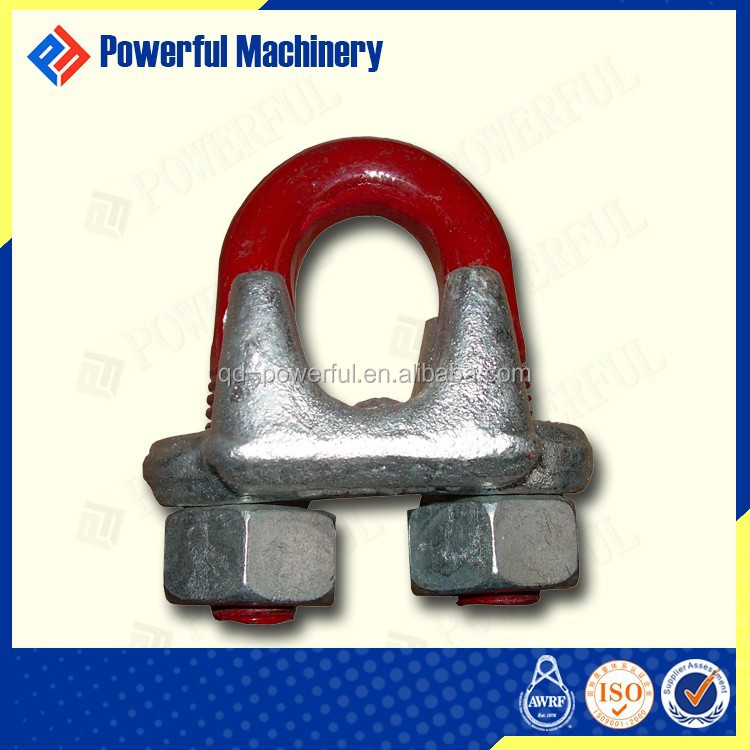 JIS TYPE DROP FORGED WIRE ROPE CLIP