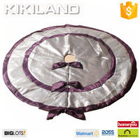 Top design high quality handicraft christmas tree skirt