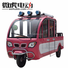 new design loading tricycle with 4 seats/semi-closed trike with smart cab/commercial used trike