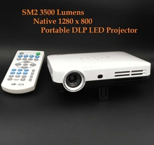 DLP 3500 Lumens Auto Keystone Correction HDMI Portable 3D Home Cinema Projector,Best Blu-ray 3d 4k projector
