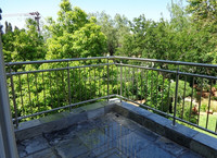 Stainless steel terrace railing for balcony