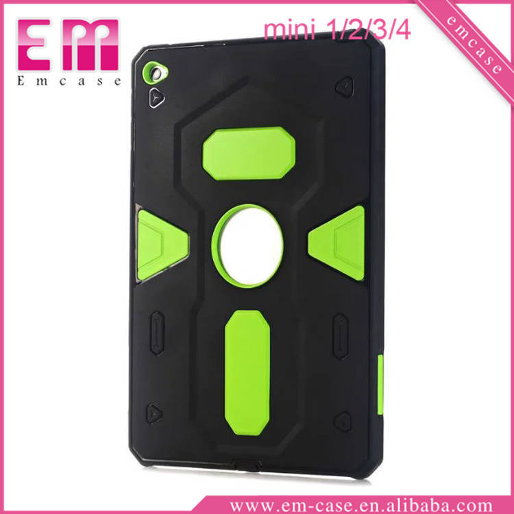 For iPad Mini Ultra Thin Hybird Armor Phone PC Case Shockproof PC Case For iPad Mini