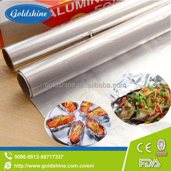 kitchen use aluminum foil laminated paper for oven packing